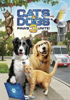 Cats & dogs 3 paws unite!