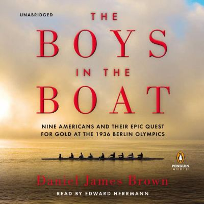 book cover for The Boys in the Boat