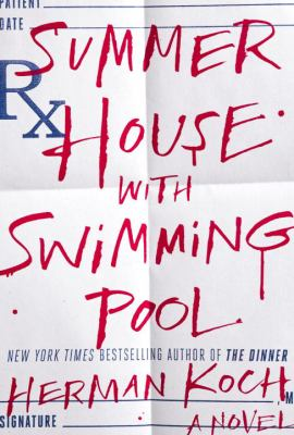 Book Cover for Summer House with Swimming Pool