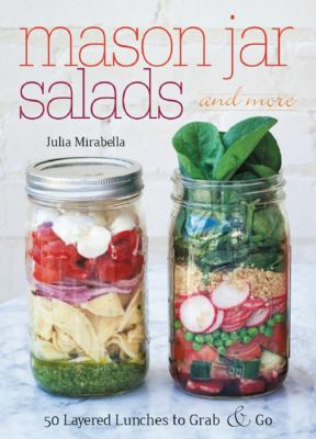 Book Cover for Mason Jar Salads